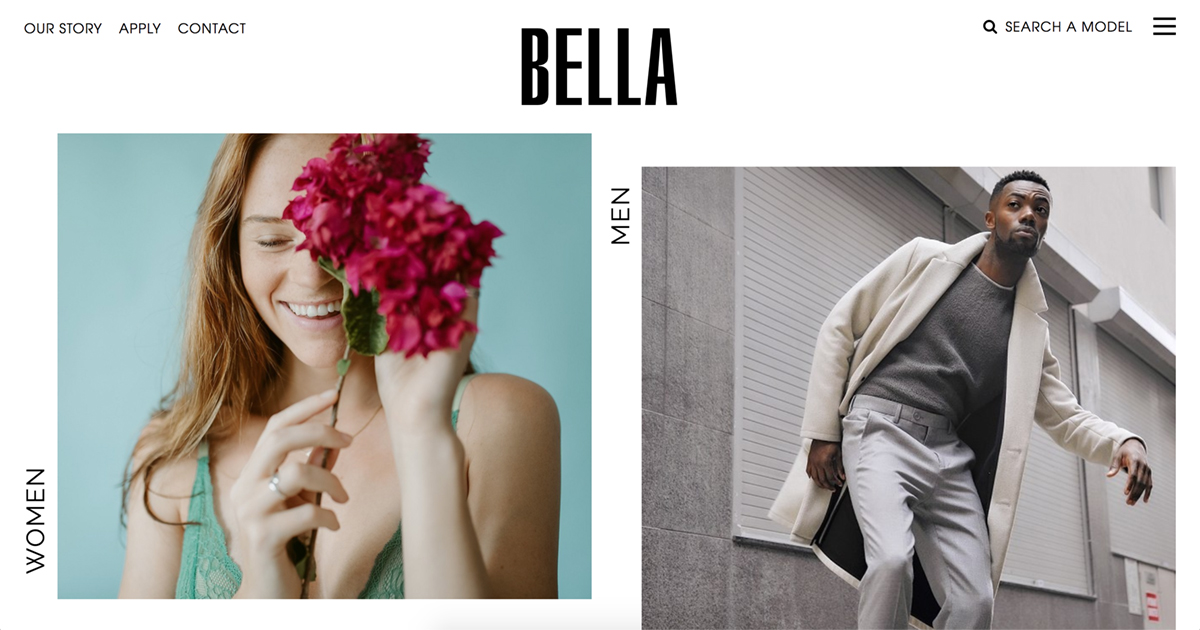 BELLA Management, Model Management Agency in Sydney, Australia